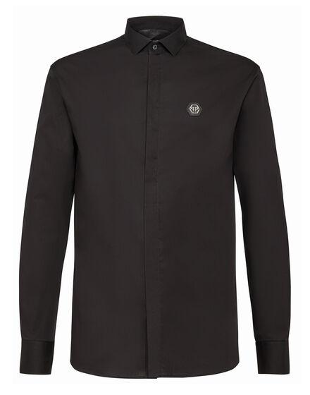 Shirt Platinum Cut LS Space Plein