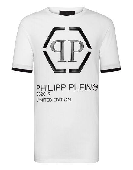 T-shirt Black Cut Round Neck Philipp Plein TM