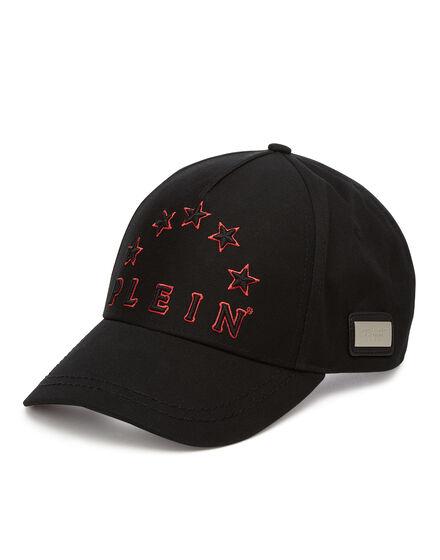 Visor Hat VISOR BLACK STARS