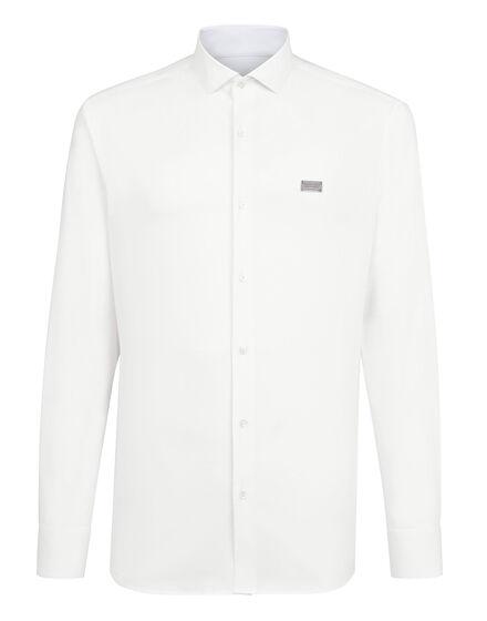 Shirt Platinum Cut LS Gothic Plein