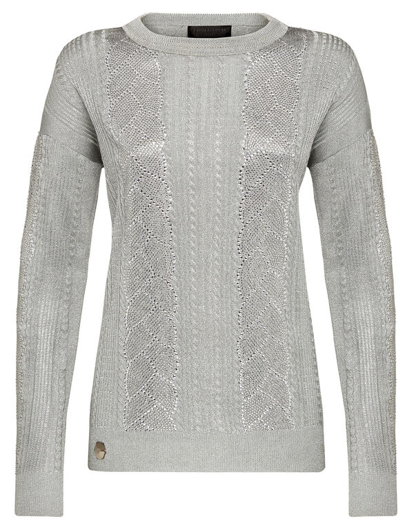 Pullover Round Neck LS Crystal