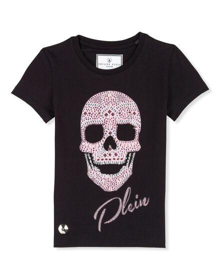 T-shirt Round Neck SS Plein skull