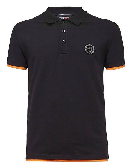 Polo shirt SS Tiger run