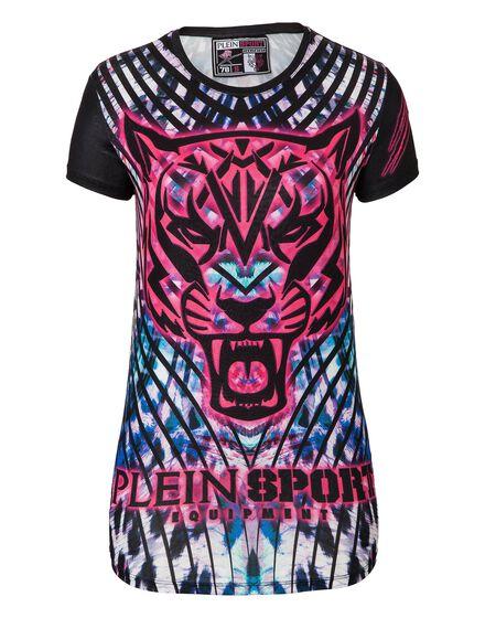 T-shirt Round Neck SS Athlete Lion