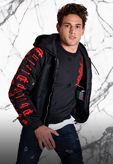 discover the new<br>men's collection<br><b>40% off</b>