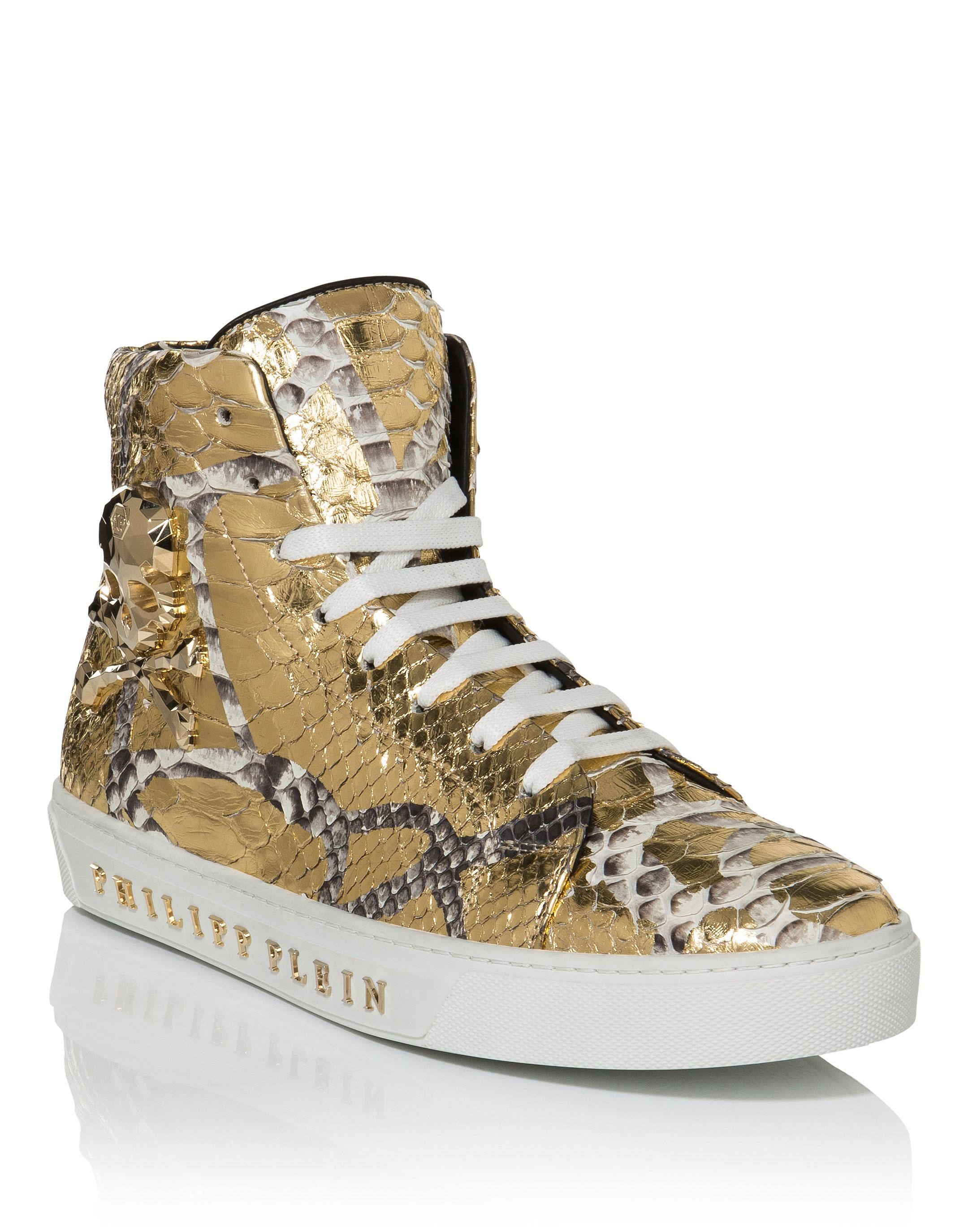 Hi-Top Sneakers \